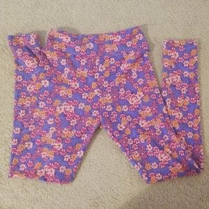 LuLaRoe Bottoms - Lularoe Mommy and Me tween leggings